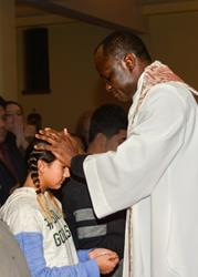 Click to view album: Anointing of Catechumens