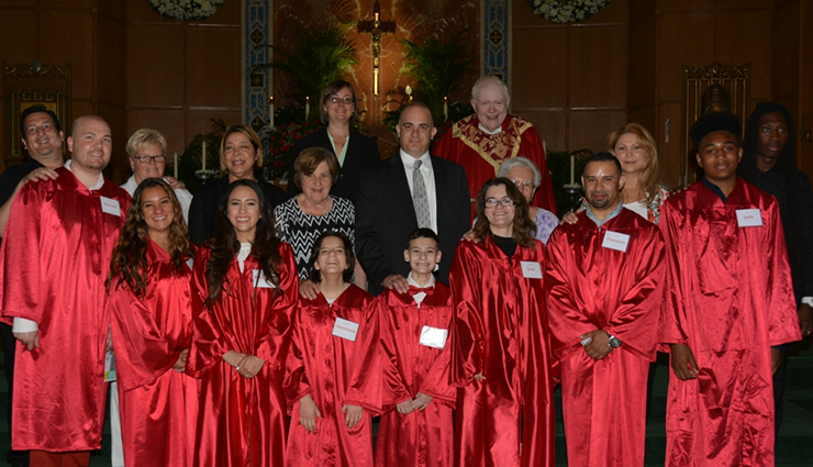 Confirmation on Pentecost Sunday