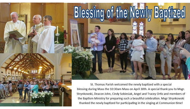 Blessing of the Newly Baptized