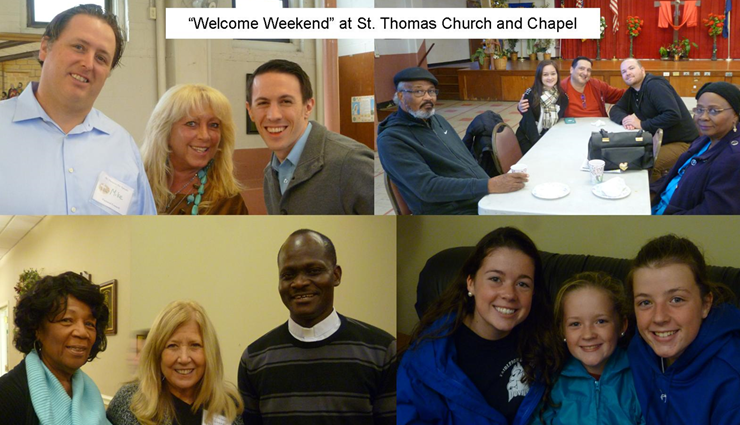 """Welcome Weekend"" at St. Thomas"