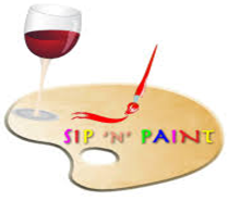 "Come to ""Sip 'n Paint"" on March 8th"
