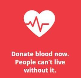 Blood Drive on Sunday, Dec. 10th