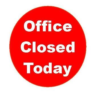 Rectory Office Closed Today