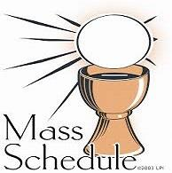 Chapel Weekday Masses Resume March 20th