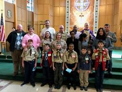 Click to view album: Scout Sunday 2017